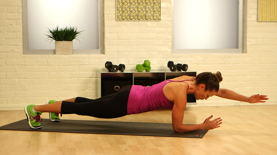 Take Our One-Minute Challenge: Plank With Arm and Leg Reach