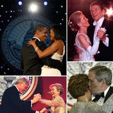 Presidents and First Ladies Sparkle, Kiss, and Let Loose at Inaugurations Past