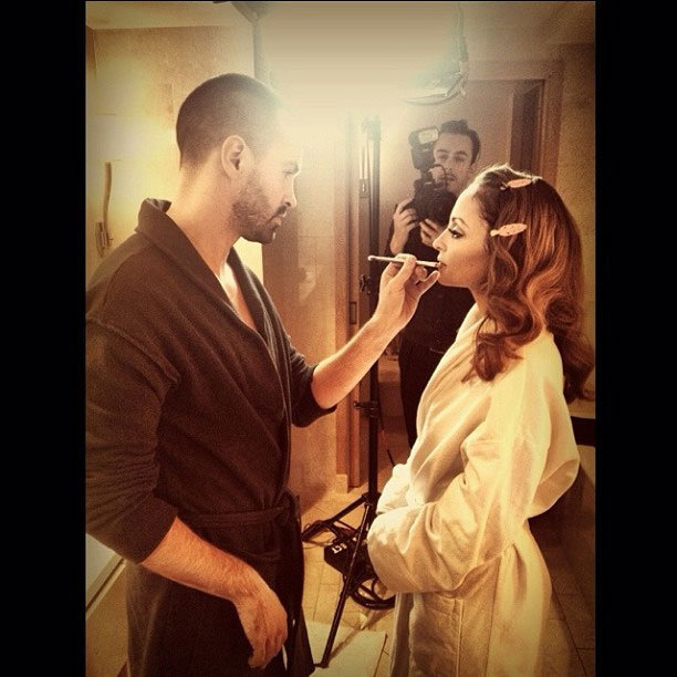 """Nicole Richie is """"almost ready"""" to make her red carpet debut. Source: Instagram user nicolerichie"""
