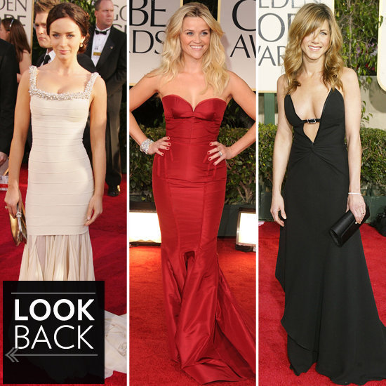 The Most Glamorous Golden Globe Gowns to Ever Hit the Red Carpet