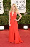 Claire Danes stunned in Versace, a mere four weeks after giving birth to her baby boy Ethan.