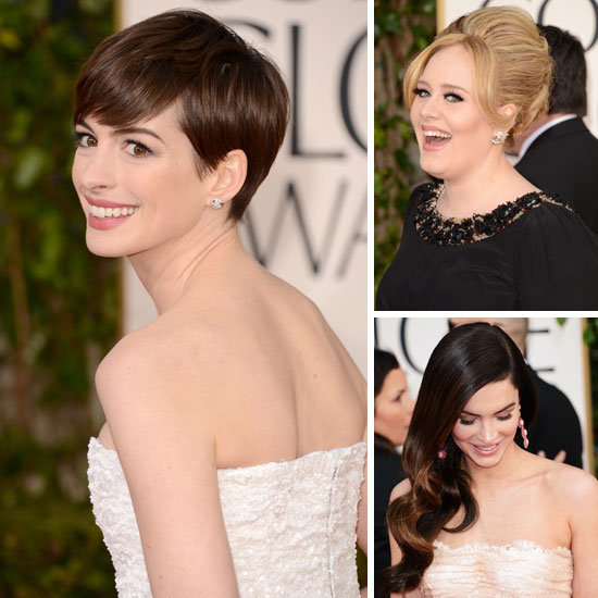 2013 Golden Globes: See the Hottest Hair and Makeup From All Angles!