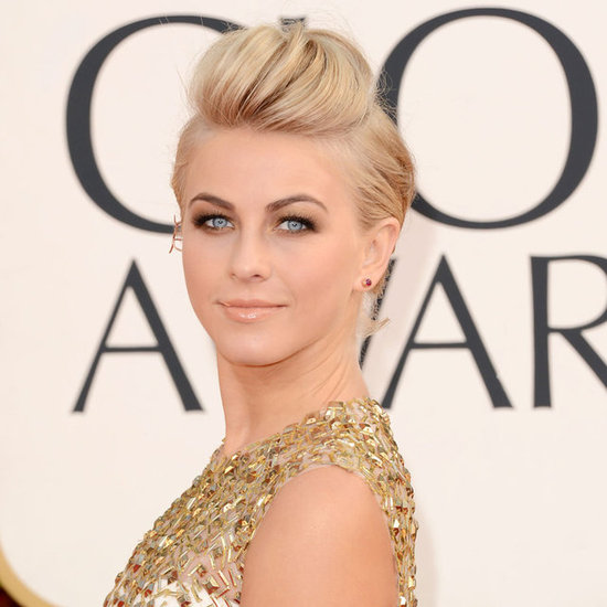Pictures of Julianne Hough at the 2013 Golden Globes