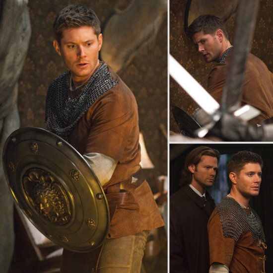 Sneak Peek: Jensen Ackles Suits Up Medieval Style For Supernatural