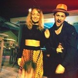 Nicole Richie and Joel Madden had a fun night. Source: Instagram user nicolerichie
