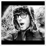 Jared Leto wore a trapper hat. Source: Instagram user jaredleto