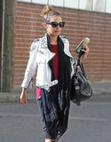 Nicole Richie left a workout.