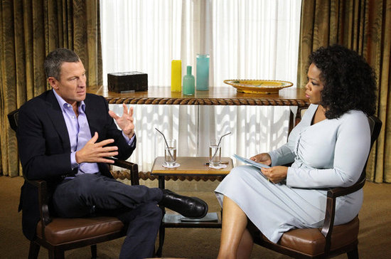 Take a Sneak Peek at Lance Armstrong Talking Doping With Oprah