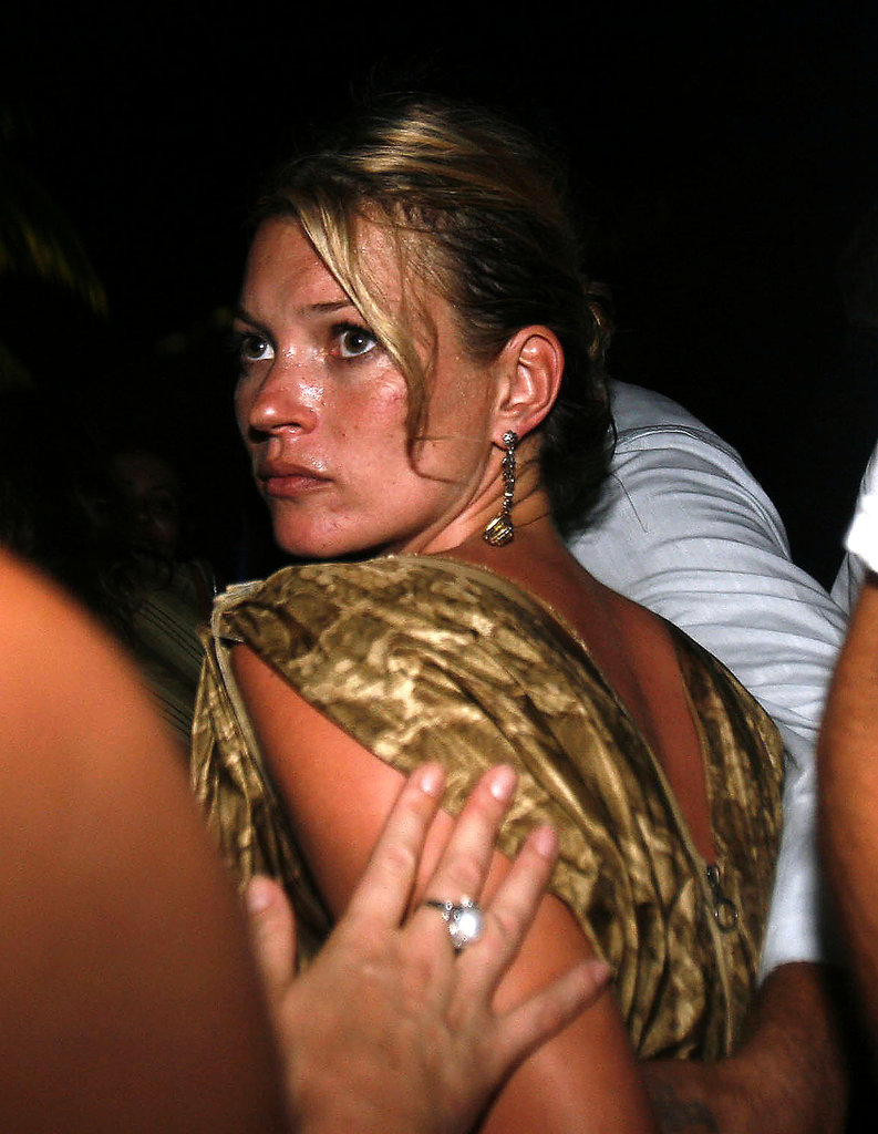 Kate Moss was in Bali clubbing in August 2006.