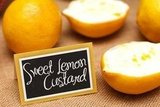 Sweet Lemon Custard