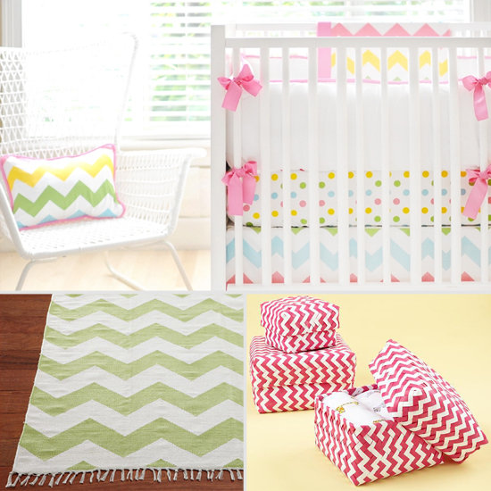 On-Trend Chevron Stripes For Any Kid's Room