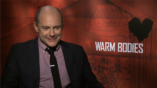 Rob Corddry Talks Making Zombies Funny in Warm Bodies