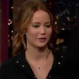 Jennifer Lawrence on The Late Show (Video)