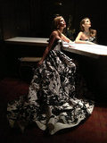 AnnaLynne McCord showed off a dress from 90210. Source: Twitter user IAMannalynnemcc