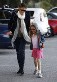 Jennifer Garner and Violet Affleck held hands on the way to an LA park.