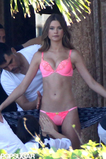 Behati Prinsloo Strips Down For a Sexy Victoria's Secret Shoot