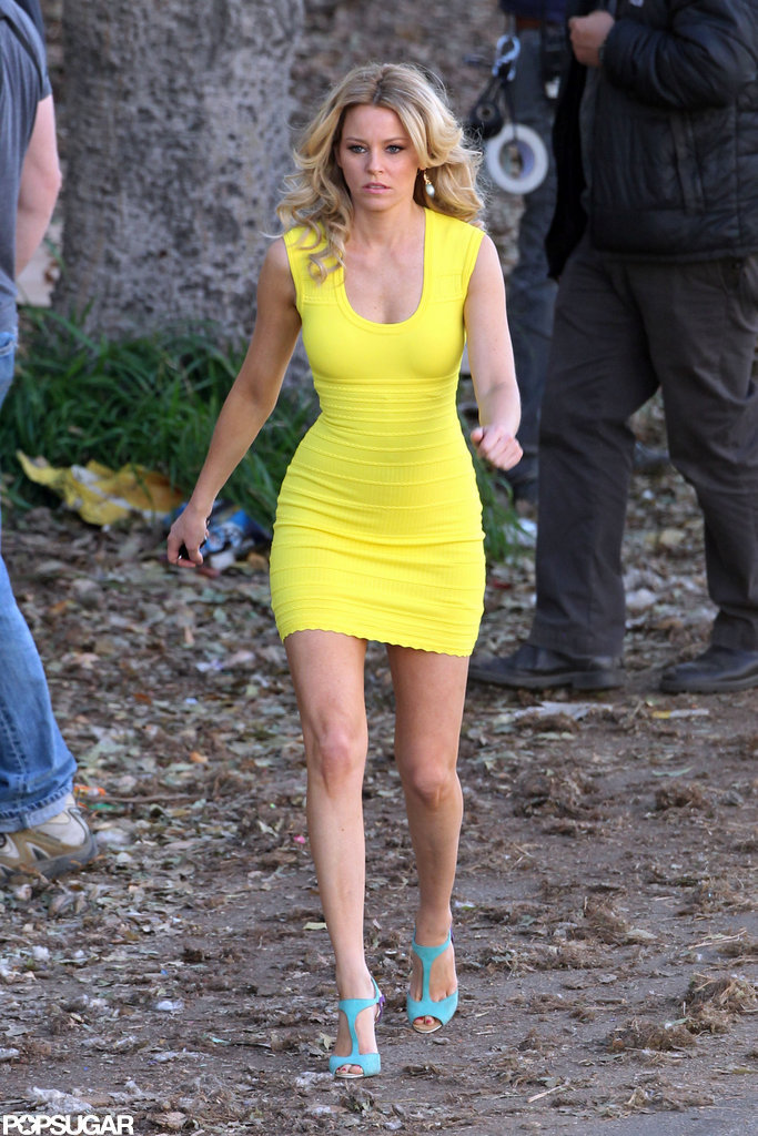 Elizabeth Banks Goes Tight and Bright For a Funny New Film
