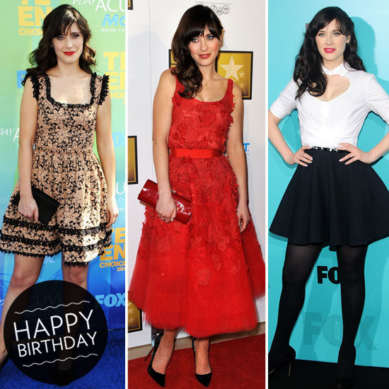 Who's That Girl (With the Charming Fit and Flare Dresses)? It's Zooey!