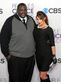 Quinton Aaron and Jenna Bently