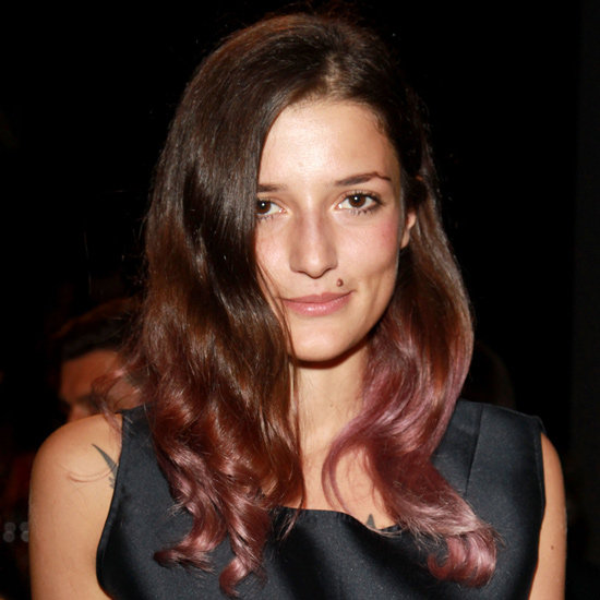"""I love Eleonora Carisi – she's like the Olivia Palermo of Italy – and I love her hair. I came late to the two-tone hair trend, but I'm still having a great old time with it. After doing burgundy ends, I'm gonna make like Eleonora now and go for a pink/purple tone."" — Gen, associate editor"