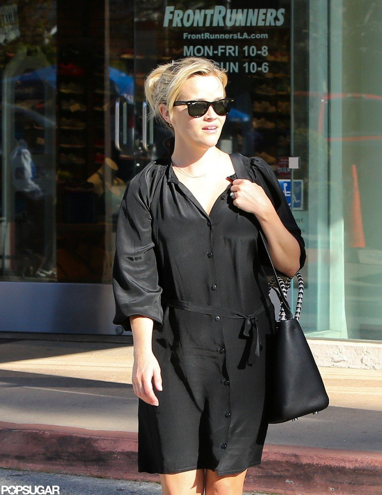 Reese Braves the Cold in LA Ahead of Her Film's Premiere at Sundance