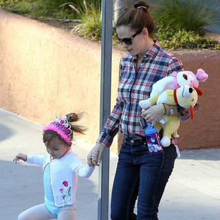 Jennifer Garner With Seraphina at Ballet in LA