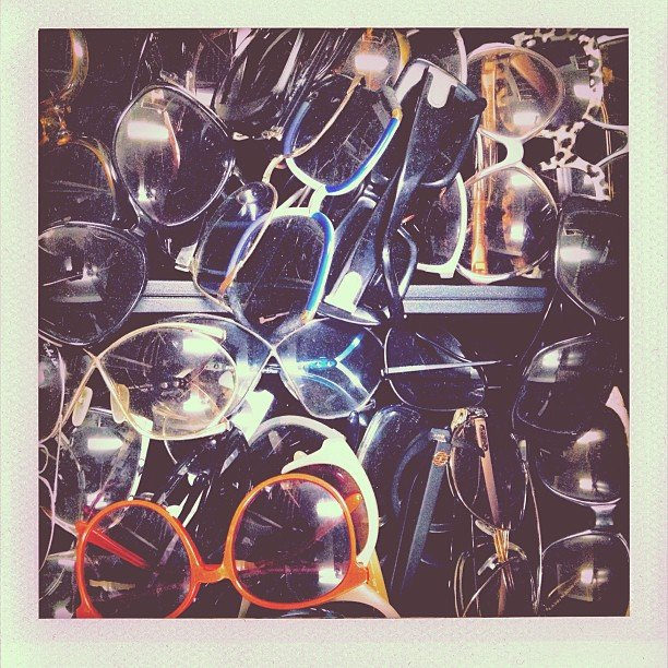 Sunnies, sunnies, sunnies! Nicole Richie was spoiled for choice. Source: Instagram user nicolerichie