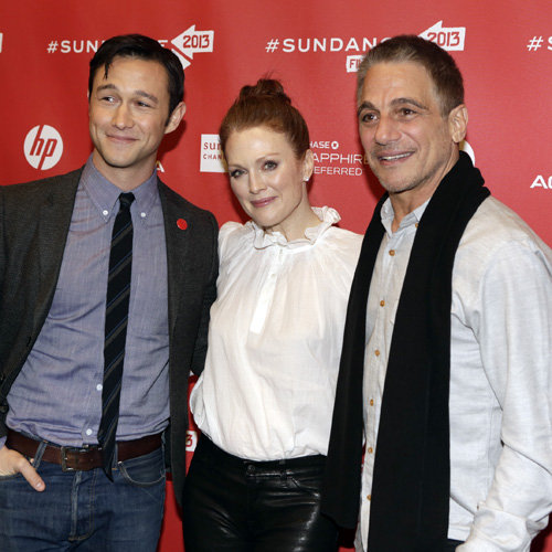 Joseph Gordon-Levitt and Julianne Moore at Sundance