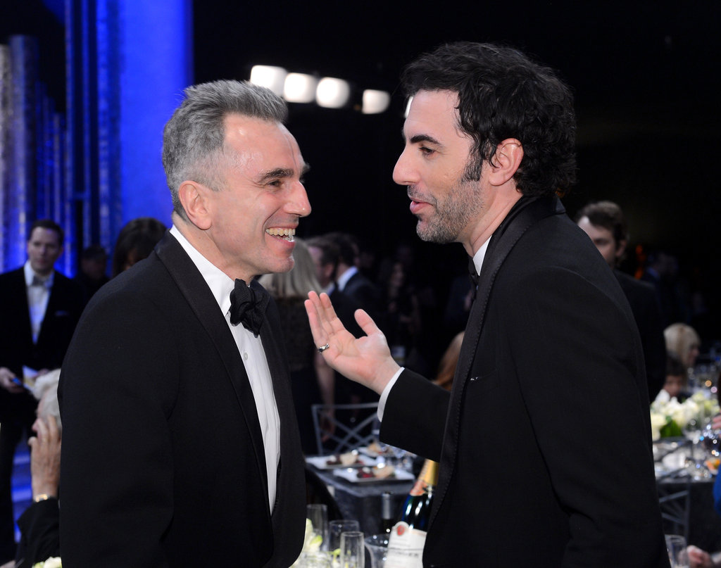 Daniel Day-Lewis and Sacha Baron Cohen