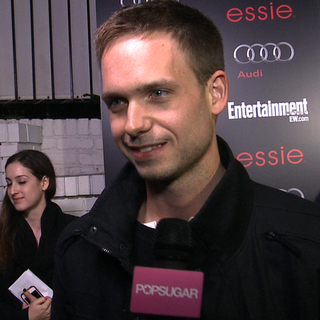 Patrick J. Adams Interview at SAG Party (Video)