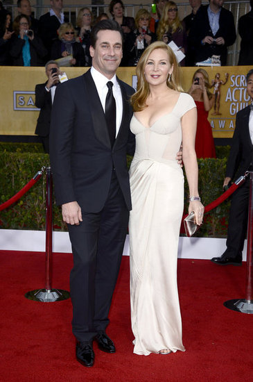 Jon Hamm and Jennifer Westfeldt Couple Up at the SAG Awards