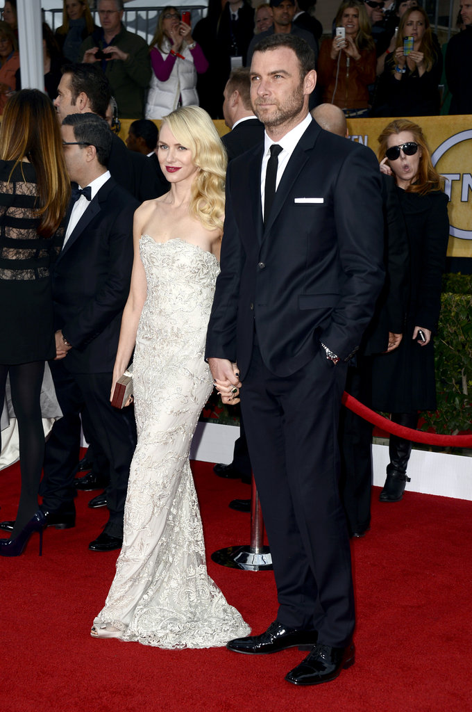 Naomi Watts Picks Marchesa to Hit the SAGs Carpet With Liev Schreiber