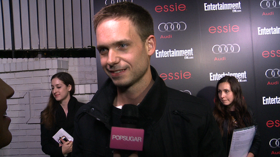 "Video: Patrick J. Adams Talks Suits Drama and ""Heat"" Between Mike and Rachel"