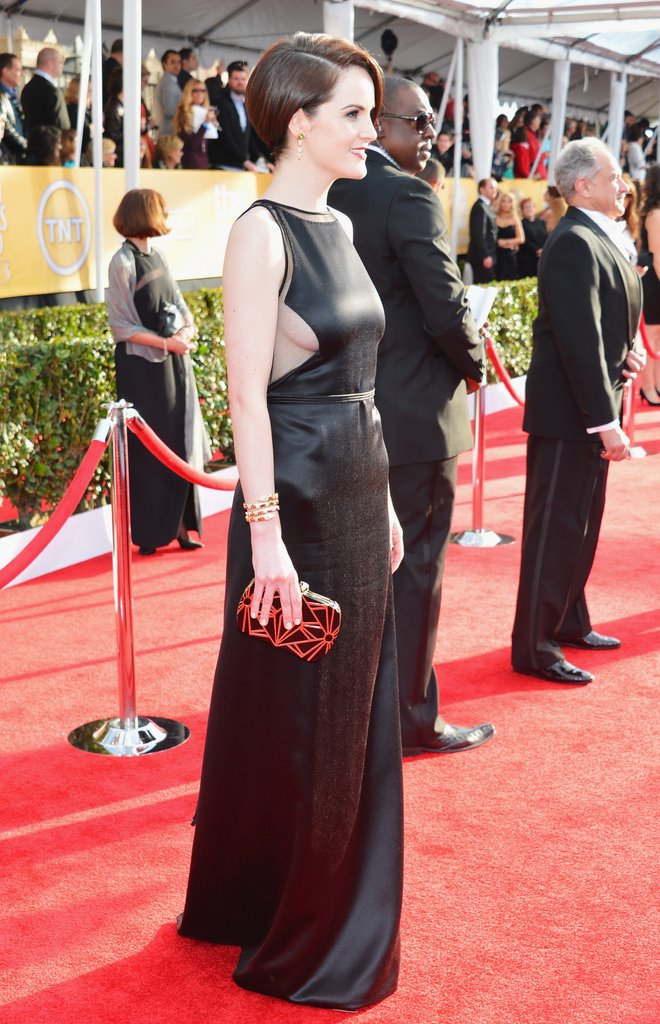 Michelle Dockery At The Sag Awards 2013 Pictures