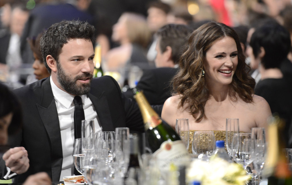 The couple smiled during the 2013 SAG Awards.