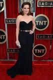 Tina Fey attended the 2013 SAG Awards.