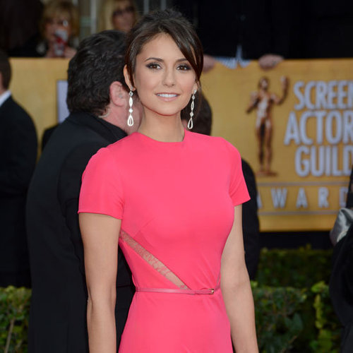 Nina Dobrev at the SAG Awards 2013