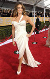 Sofia Vergara Glows in White at the SAG Awards