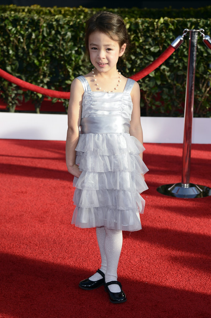 Aubrey Anderson-Emmons looked adorable on the SAG Awards red carpet.