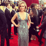 Julia Stiles selected silver. Source: Instagram user sagawards