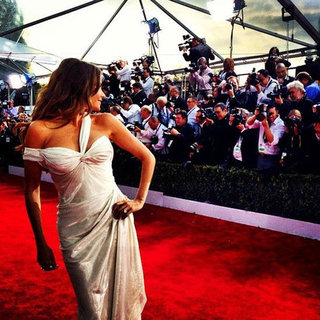 SAG Awards 2013 Red-Carpet Instagram Pictures