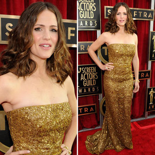 Jennifer Garner: SAG Awards Red Carpet Dresses 2013