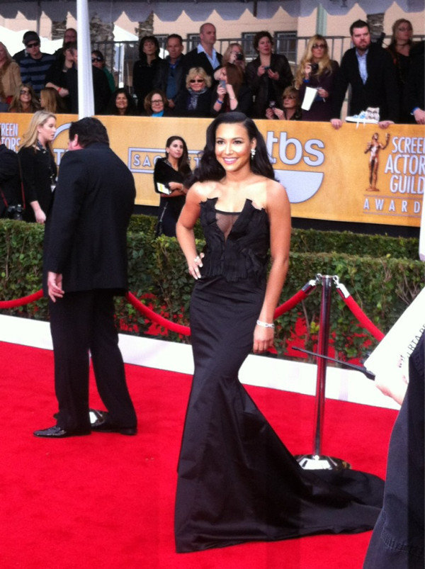 A full-length look at Naya Rivera. Source: Twitter user TNTweknowdrama