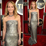 Helen Hunt: SAG Awards Red Carpet Dresses 2013