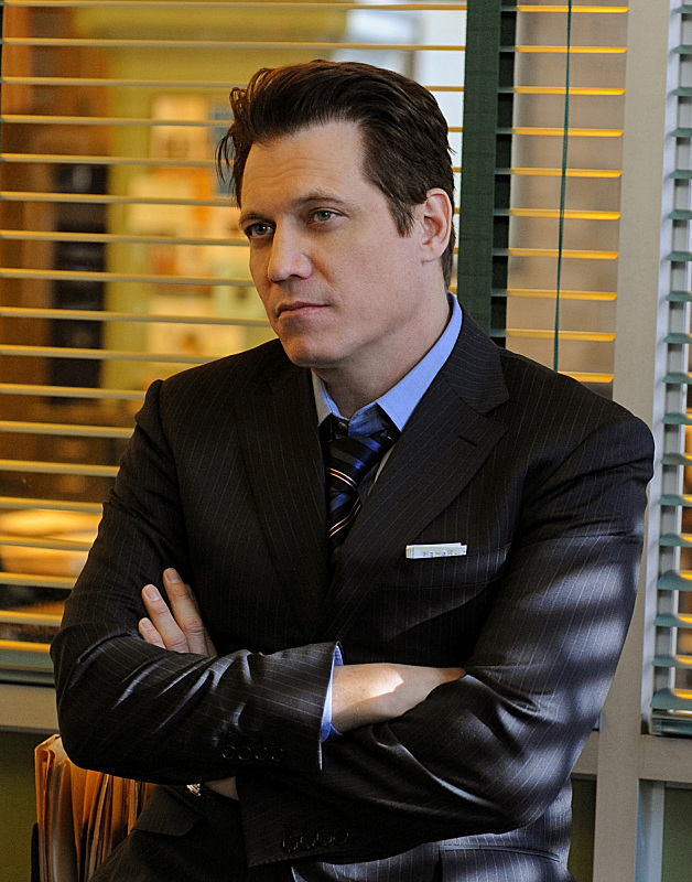 Holt McCallany on Golden Boy.