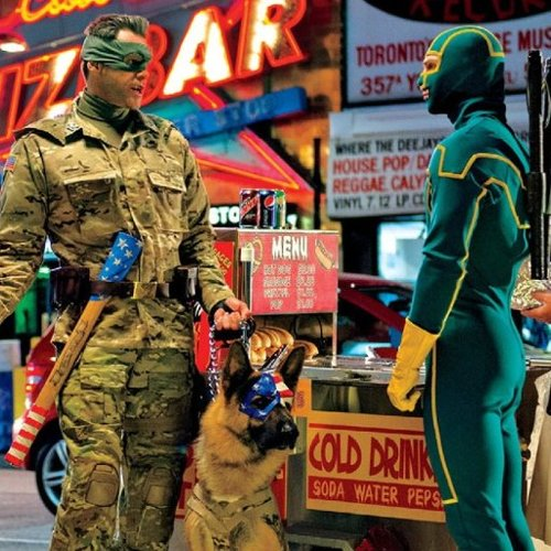 Kick-Ass 2 Picture With Jim Carrey
