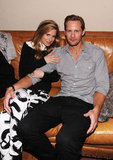 Alexander Skarsgard Cozies Up With His Costars at Sundance