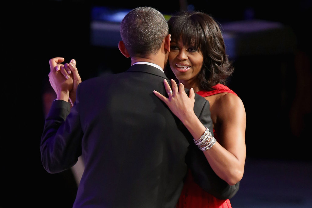 President and First Lady Obama Celebrate With Stars at the Inaugural Ball