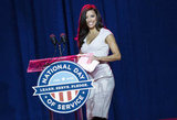 Eva Longoria showed her support at the National Day of Service event  in Washington DC in January 2013.