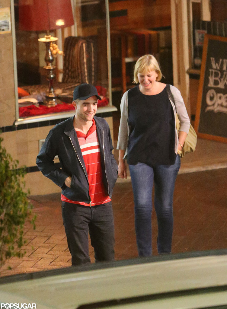 Robert Pattinson had an outing in Adelaide, Australia.